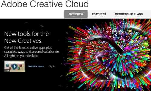 Adobe Creative Cloud Down