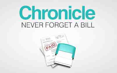 87% for Chronicle Bill Manager