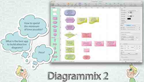 Diagrammix Drawing Tool for Mac