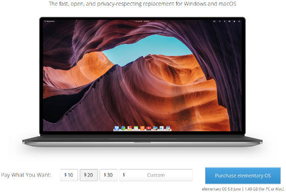 Purchase ElementaryOS 5