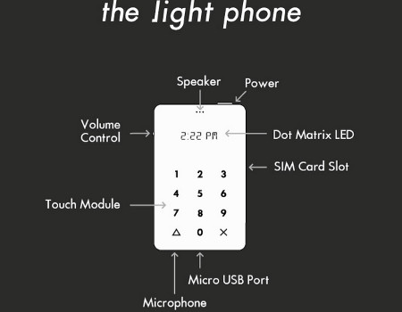Specs for the Light Phone