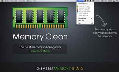 Memory Clean App for Mac