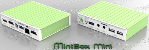 MintBox Mini - Pricey LinuxMint Computer