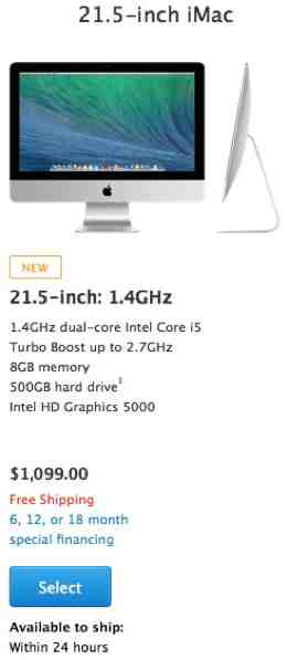 Apple Launches Cheaper iMac