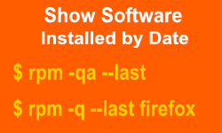 Commands to List Software Installed by Date on Linux Systems