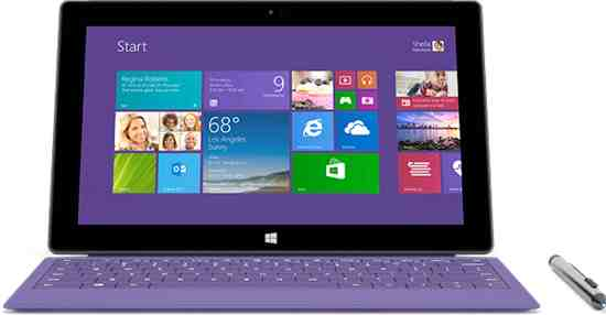Surface Pro 2 Tablets Slow to Win Over Consumers