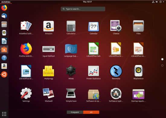 Ubuntu 18.04 Apps