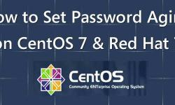How to Set Up Password Aging on CentOS 7